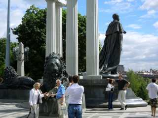 Moscow - a monument to Alexander II