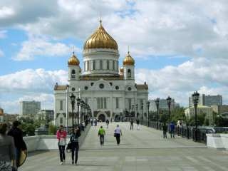 Moscow Landmark - Cathedral of Christ the Savior