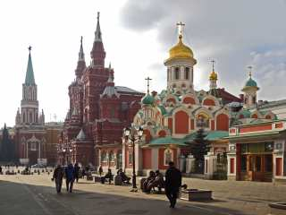Red Square with Kazan Cathedral