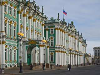 Entrance to the Winter Palace