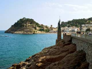 Shore of Tossa de Mar