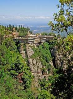 Montserrat - a monastery in the mountains