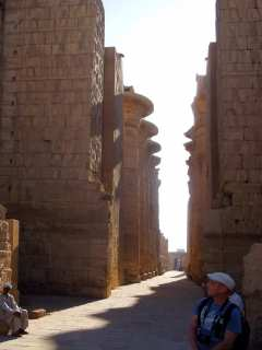Karnak Temple in the morning