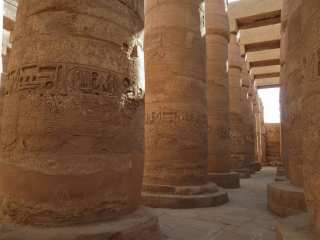 Colonnade of Karnak Temple