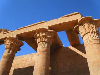 Columns of the Temple of Isis