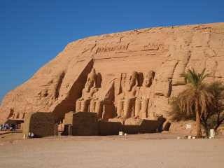 Cave Temple of Ramses II in Nubia