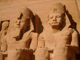 Temple of Abu Simbel. Ramses II