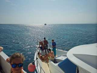 Boat trip on the Red Sea