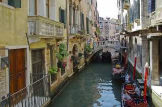 The silent backwater of Venice