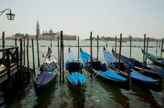 Gondoliers also have a day off