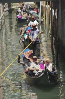 On the narrow canals of Venice