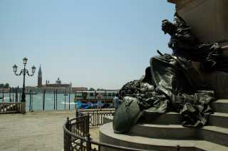 Monument to Vittorio Emanuele II on the Embankment of Venice