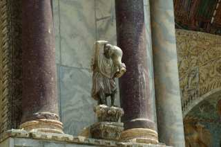 Sculptures adorning the Cathedral of San Marco