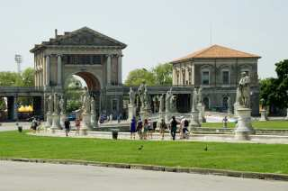 Padua. The place of rest for citizens is Prato della Valle