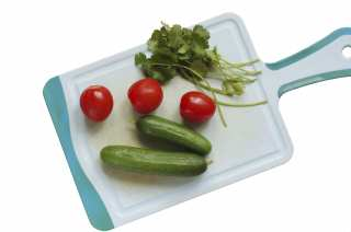 Cucumbers and Tomatoes for Salad
