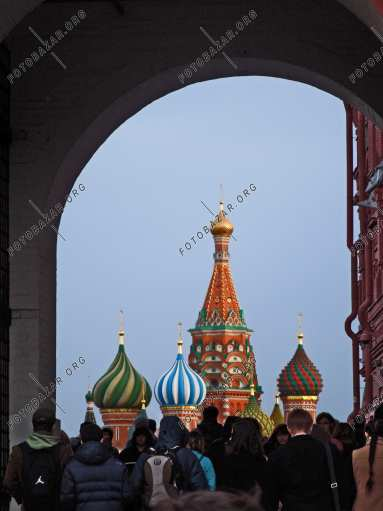Passage to Red Square