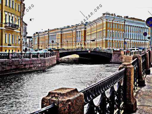Moika River. Saint Petersburg