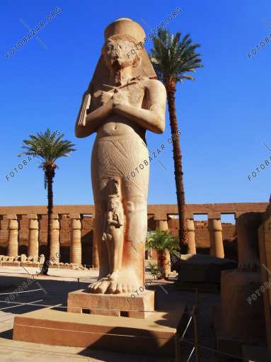 The Great Temple of Amun Ra in Karnak