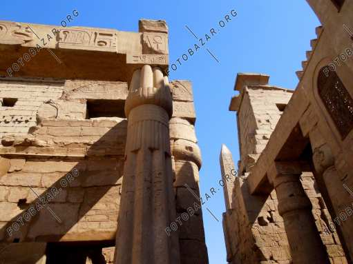 Luxor Temple Interior
