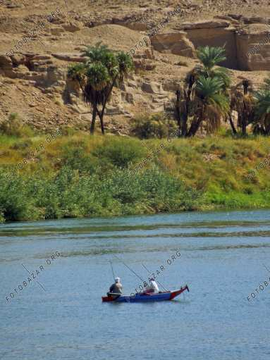 Fishermen on the Nile
