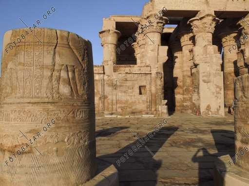 Colonnade of Kom Ombo Temple