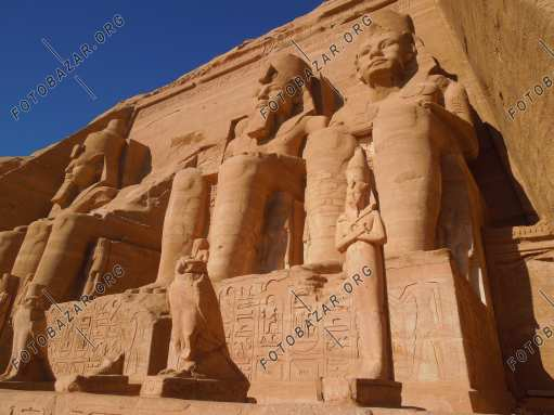 Sculptural composition in Abu Simbel