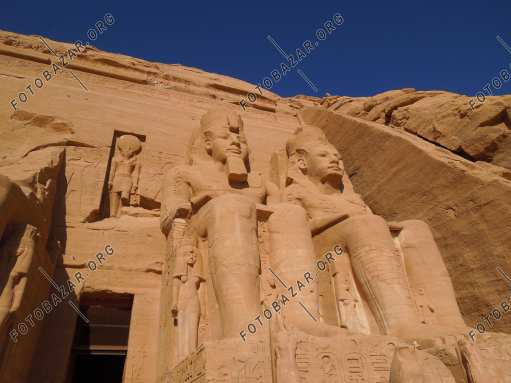 Sculptures of Ramses II
