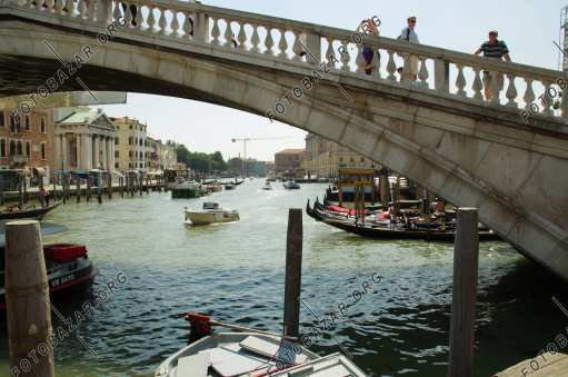 Venice. Bridge over the canal